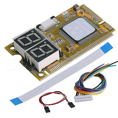 5 in 1 Notebook Diagnose Test Debug Post Card Karte Mini PCI I2C PCI-E LPC ELPC