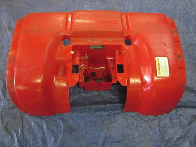 2002 Honda Foreman Rubicon ATV Rear Plastic Fender Red
