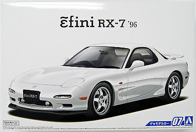 Aoshima 51580 The Model Car 07 MAZDA FD3S RX-7 '96 1/24 scale kit