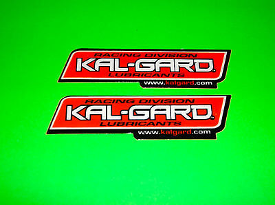 Kalgard Kal-Gard Chain Lube Cleaners Greases Fabric Foam Filter Oils Stickers