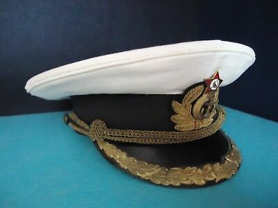 Soviet ( Russian, USSR ) Navy Guard Sailor Parade Baltic Fleet Cap