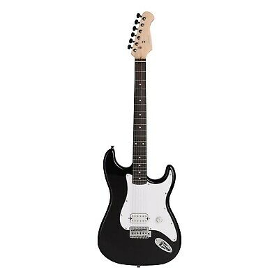 Artist EB2 Black Full Sized ST Style Electric Guitar - New