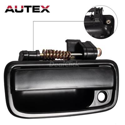 Black Outer Exterior Front Left Driver Side Door Handle For 95-04 Toyota Tacoma