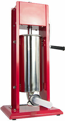 VIVO Sausage Stuffer Vertical Dual Gear Stainless Steel 5L/11LB 11 Pounds Meat