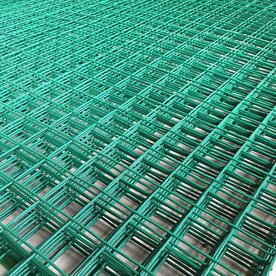 "6FT x 3FT Green PVC Coated Wire Mesh Panels Sheet 1""/2"" Square Holes Fence Pet"