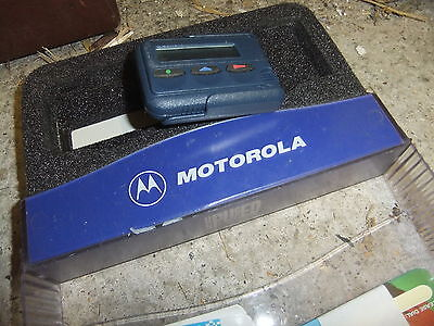 Pager MOTOROLA 234M2 Mercury MINI CALL + box and cards - not connected