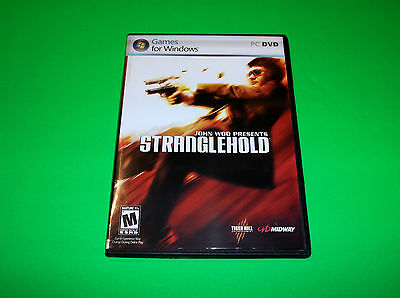 John Woo Stranglehold Game For Dell Hp Acer Windows Xp Pc Laptop Computer