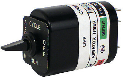 Attwood Marine 14292-3 LIVE WELL AERATOR TIMER SWITCH