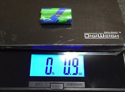 DIGIWEIGH Postal Scale 15lb Function and Tare DIGIWEIGH  Blue LCD w/Adapter NEW