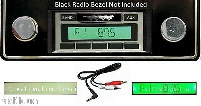 1974-1978 Ford Mustang Radio w/ FREE Aux Cable + 230 Stereo **