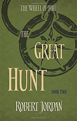 The Great Hunt: Book 2 of the Wheel of Time,New Condition