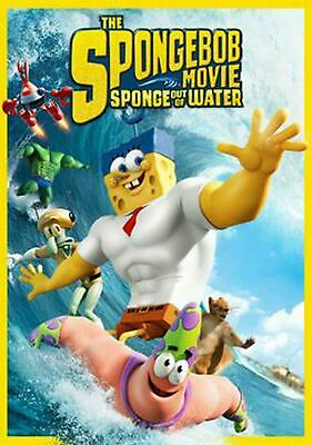 The Spongebob Movie: Sponge Out of Water - DVD-STANDARD Region 1 Free Shipping!