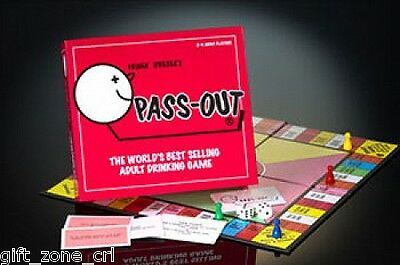 PASS OUT - ADULT Party Drinking BOARD GAME Passout