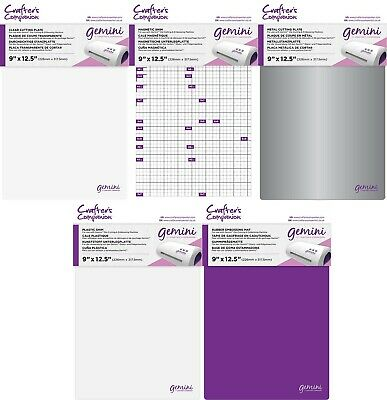 Crafter's Companion Gemini Accessories - Cutting Plate, Shim, Embossing Mat