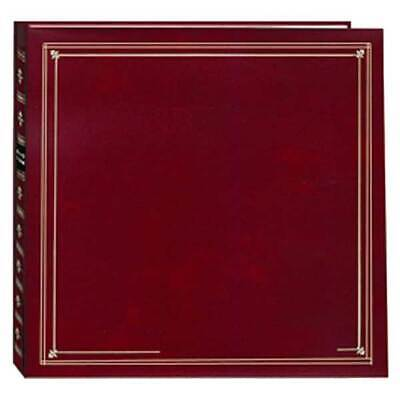 Pioneer Photo Albums MP46-BU Full Size Album 4X6 6/PAGE 300 Photo Burgundy