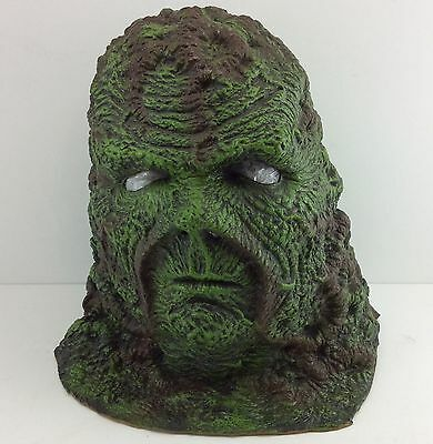 "SWAMP THING MASK Baggage Battles DICK DUROCK ""SWAMPY"" SIGNED Alterian Ghost"