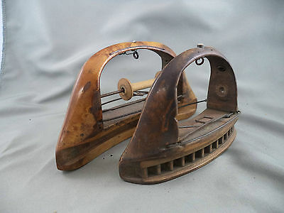 Antique Parts Primitive Wood Shuttle for Narrow Fabric Loom in Factory