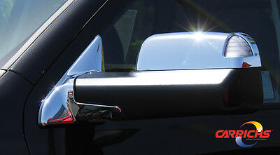 FOR: FORD F-350 SUPER DUTY MCFD105 MIRROR COVERS 4 Piece Set 2008-2015