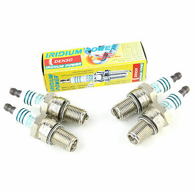 4x VW Golf MK2 1.8 GTI 16V Genuine Denso Iridium Power Spark Plugs
