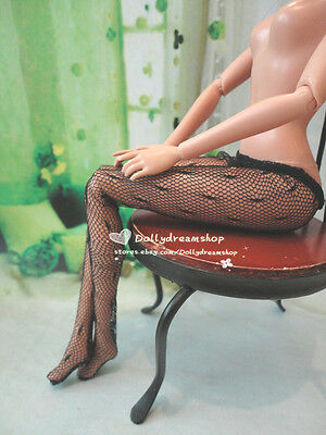 Doll Accessory ~ Barbie Black color Pantyhose Tights 1PCS #S-173