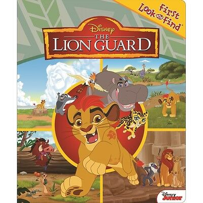 Lion Guard My First Look and Find Book