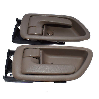 Beige Inside Door Handle Left Right Pair For Toyota Tundra 69206-0C030-B0 New