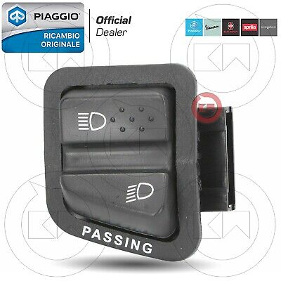 Commutatore Interruttore Luci Originale Piaggio Beverly 125 250 300 400 500