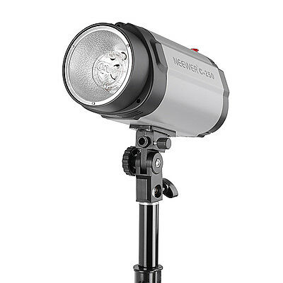 NEEWER 250W Master/Slave Strobe Studio Flash Modeling Light for Photograph Video