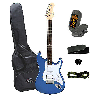 Artist STH Metallic Blue Electric Guitar + Humbucker - New