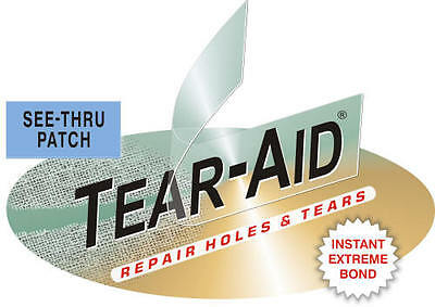 3 x TEAR AID TYPE B - REPAIR PATCHES FREE SHIP , Vinyl PVC, Seat, Pool Liner,