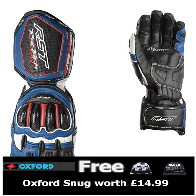 RST Tractech Evo 2579 CE Approved Sport Race Gloves Blue  *Various Sizes