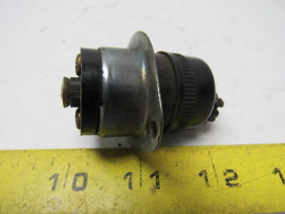 Pass & Seymour  15A 125/250V  Male Flanged & Female Plug Assembly Midget TURNLOK