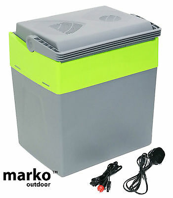 30L Litre Capacity Electrical Coolbox 240V AC & 12V DC Electric Cool Box Cooler