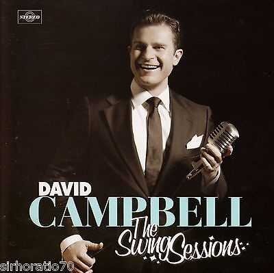 DAVID CAMPBELL Swing Sessions OZ CD  New