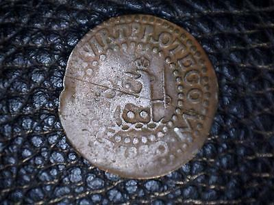 Philippines Spain Quarto 1820-M (1830?), Km-7 #514