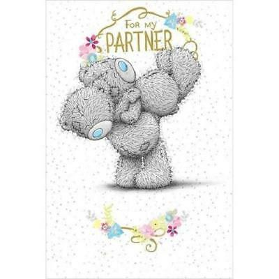 Me To You For My Partner Birthday Card Tatty Teddy Bear New Gift