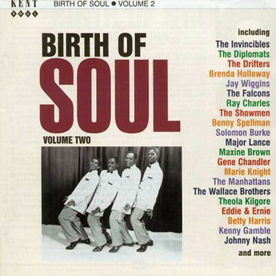 """BIRTH OF SOUL VOLUME 2  """"28 SIDES OF EARLY 60's SOUL, R&B, VOCAL GROUP"""""""