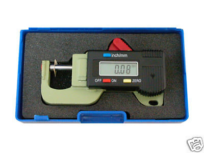 Digital Thickness Gauge Measurement Paper Parts Printing Film Supplies Printers