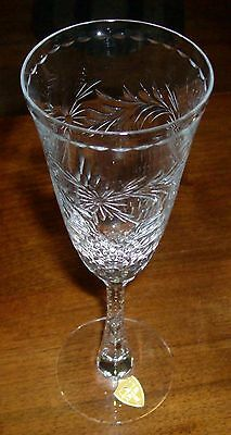 Tiffin-Franciscan Crystal Chalfonte Champagne Glass