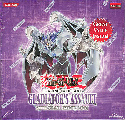 Yugioh Gladiator's Assault Special Ed Se Booster Box Blowout Cards