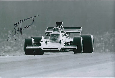 SIGNED Emerson FITTIPALDI Autograph MONTE CARLO F1 12x8 Photo AFTAL COA Genuine