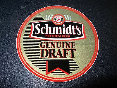 SCHMIDTS Genuine Draft Logo pabst STICKER decal craft beer brewing brewery