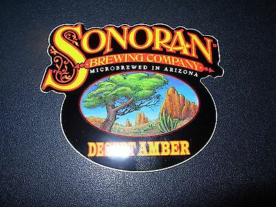 SONORAN BREWING COMPANY Desert Amber STICKER decal craft beer brewery