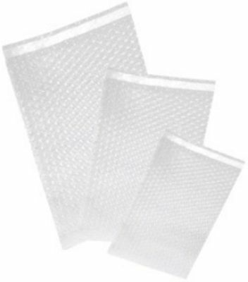 "200 - Uneekmailers 8x11.5 Bubble Out Self Sealing Pouches Wrap Bags Clear 8""x11"""