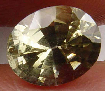 Beautiful Natural Kornerupine Unheated Faceted Gem Sri Lanka 1.65 CT 07062644S