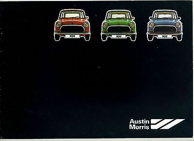 (43A) Catalogue Austin Morris Mini 850 - 1000 - 1100 Special