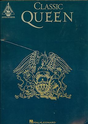 Classic Queen Recorded Versions Guitar tab songbook sheet music