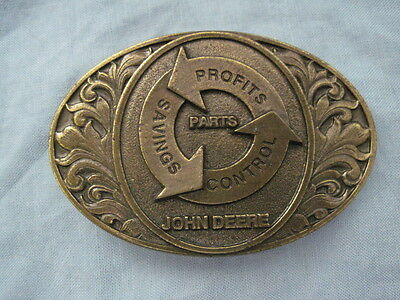 1994 JOHN DEERE PARTS Limited Edition BELT BUCKLE New