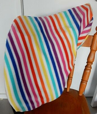 Horse Saddle cover Rainbow striped  FREE EMBROIDERY Australian Made Protection