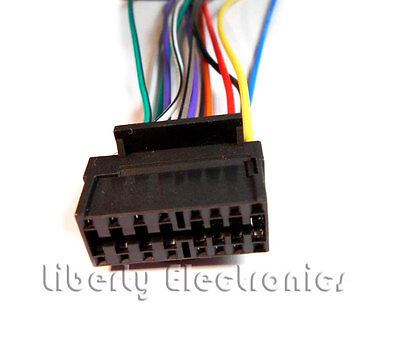 New 16 Pin AUTO STEREO WIRE HARNESS PLUG for SONY CDX-GT630UI Player